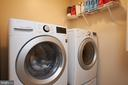 Upper level side by side washer and dryer - 2912 S GRANT ST, ARLINGTON
