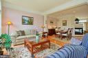 Living Room opens to lovely Dining Room - 6719 ASPEN TRACE CT, ANNANDALE