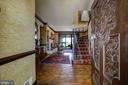 Entry Foyer - River Views Immediately Welcome You! - 3905 BELLE RIVE TER, ALEXANDRIA