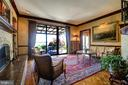 Main Level Family Room with Potomac River Views! - 3905 BELLE RIVE TER, ALEXANDRIA