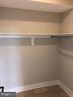Master bedroom walk-in closet - 1821 I STREET NE #13, WASHINGTON