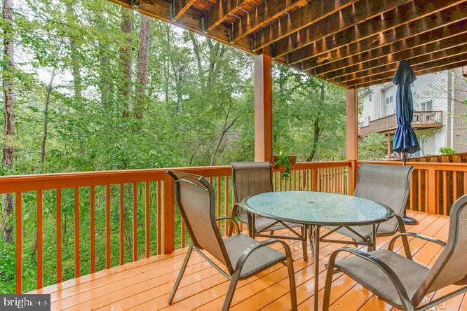 Wooded Private View from deck - 619 SNOW GOOSE LN, ANNAPOLIS