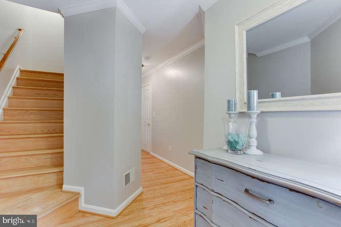 Head Upstairs to Kitchen and Family Room - 619 SNOW GOOSE LN, ANNAPOLIS