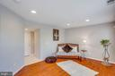 Lower level family room/office w/ recessed lights - 43771 APACHE WELLS TER, LEESBURG