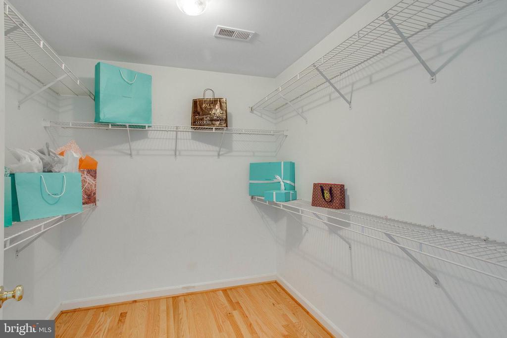 Large walk in closet in Master Suite - 43771 APACHE WELLS TER, LEESBURG