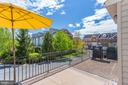 Enjoy a bar-b-que on the deck. - 43771 APACHE WELLS TER, LEESBURG