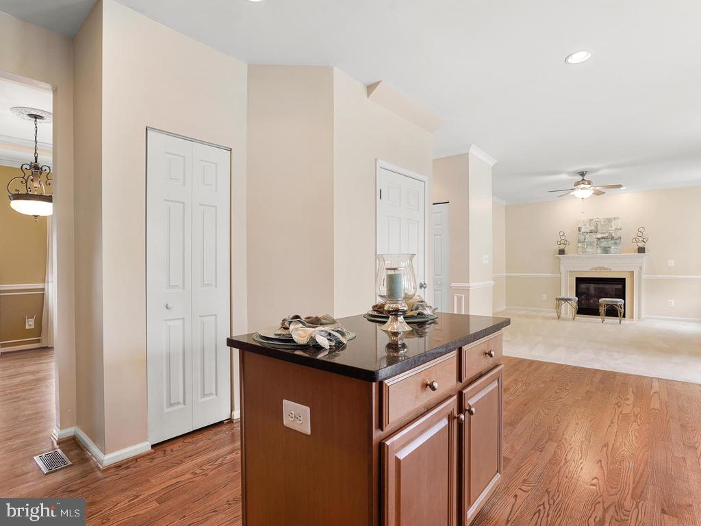 Kitchen View from the stove - 2151 BALLAST LN, WOODBRIDGE