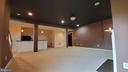 Basement with gas fireplace - 18805 PIER TRAIL DR, TRIANGLE
