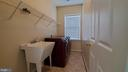 Second level Laundry with sink - 18805 PIER TRAIL DR, TRIANGLE