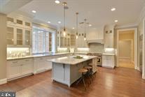 Kitchen: 2 Dishwashers, double oven, 6 burners - 9005 FERNWOOD RD, BETHESDA