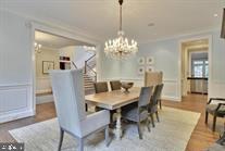 Dining Room - 9005 FERNWOOD RD, BETHESDA