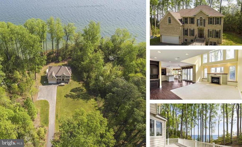 2.25  acres on the Chesapeake Bay w/views! - 825 CAMP CONOY RD, LUSBY
