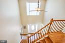 Beautiful hardwoods on stairs and upper landing - 6 CROMWELL CT, STAFFORD