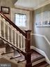 stained glass window leads to upper hallway - 434 STATE ST, ANNAPOLIS