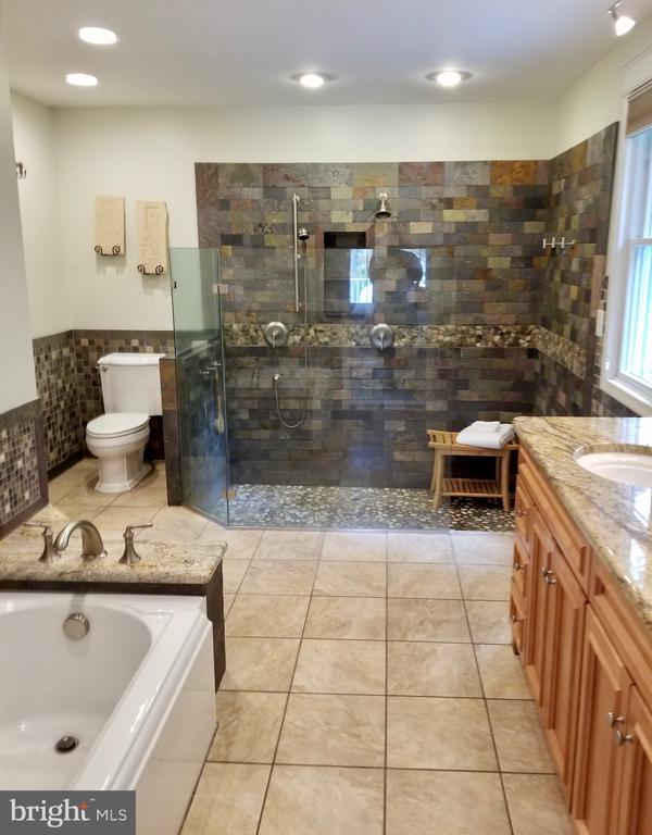 Master bath has amazing sunken shower for 2 with - 434 STATE ST, ANNAPOLIS