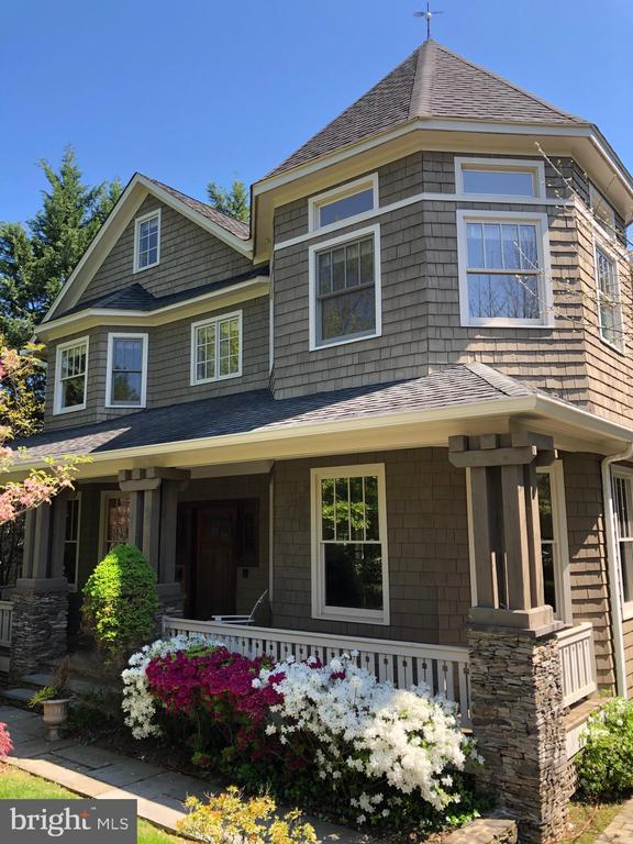 Front porch living at its best! - 4412 WALSH ST, CHEVY CHASE