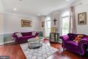 Formal Living Room - 16144 WOODLEY HILLS RD, HAYMARKET