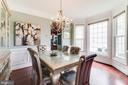 Formal Dining Room - 16144 WOODLEY HILLS RD, HAYMARKET
