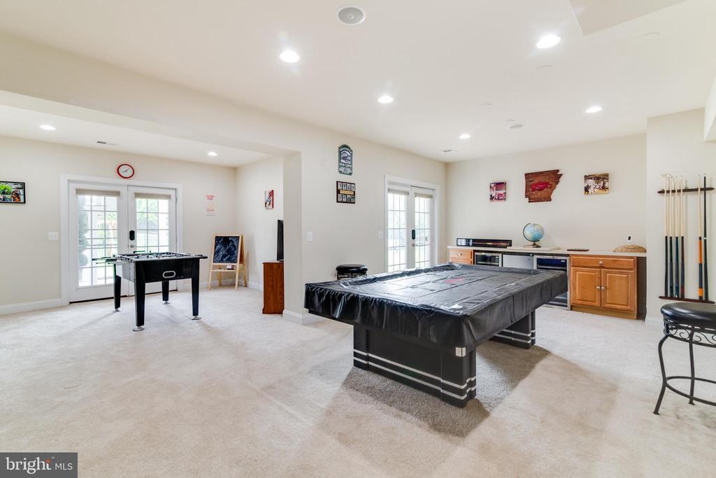 Recreation Room in Basement - 16144 WOODLEY HILLS RD, HAYMARKET