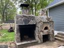 Large Firepit with a pizza oven to enjoy. - 2 BLAIR RD, FREDERICKSBURG