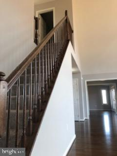 stairs leading to two upstairs bedrooms and bath - GRUVER GRADE, MIDDLETOWN