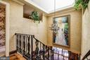 Skylight Bathes Spiral Staircase in Natural Light! - 3905 BELLE RIVE TER, ALEXANDRIA