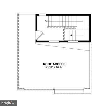 Fourth Level Floor Plan - 1018 SOUTH TAYLOR CT, ARLINGTON