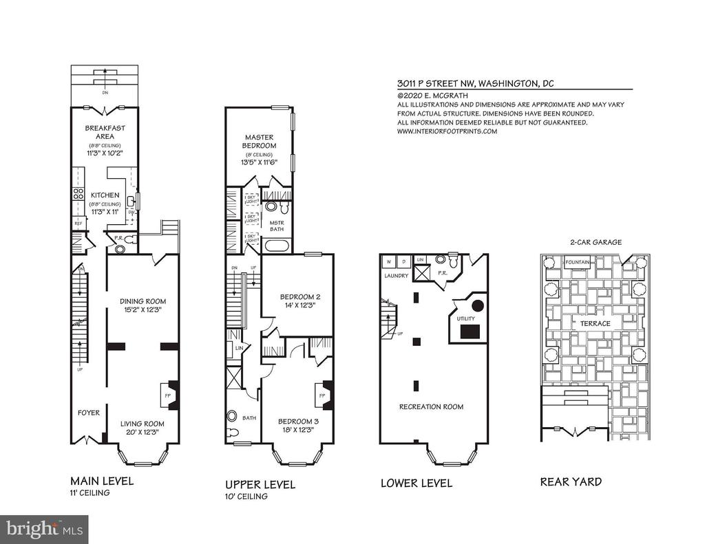 FLOORPLAN - 3011 P ST NW, WASHINGTON