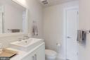 Hall bathroom - 2434 16TH ST NW #301, WASHINGTON