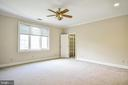 Crown Molding & Walk-in Closet in Bedroom 3 - 12970 WYCKLAND DR, CLIFTON