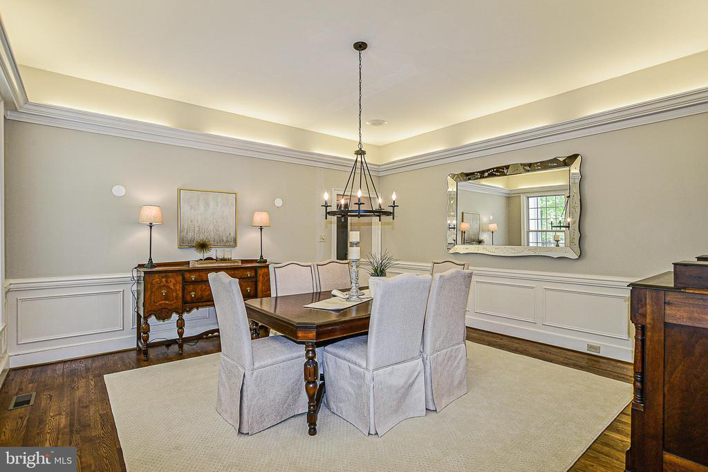Freshly Painted Formal Dining Room - 12970 WYCKLAND DR, CLIFTON