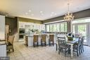 Generously Sized Gourmet Kitchen & Breakfast Area - 12970 WYCKLAND DR, CLIFTON