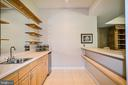 Bar with Stainless Steel Sink & Mini Fridge - 12970 WYCKLAND DR, CLIFTON