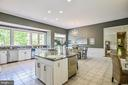 Ample Natural Light From Picture Window in Kitchen - 12970 WYCKLAND DR, CLIFTON