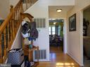 2-Story foyer with hardwood welcomes your guests - 544 PYLETOWN RD, BOYCE