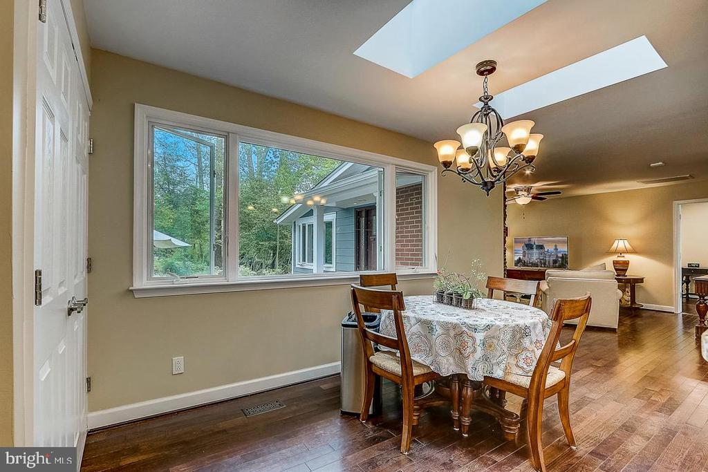 Dining area off of kitchen - 1735 WESTMORELAND TRL, ANNAPOLIS