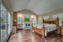 Elegant fireplace and lighting  in Master Bed - 1735 WESTMORELAND TRL, ANNAPOLIS