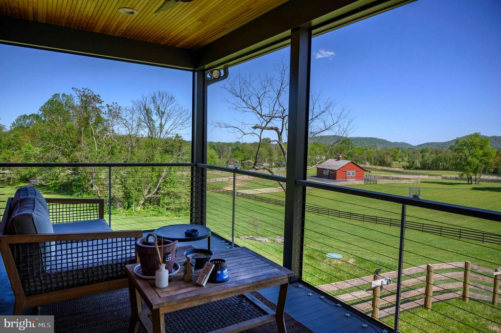Now this is a porch...what a view. - 65 HICKORY LN, HUNTLY
