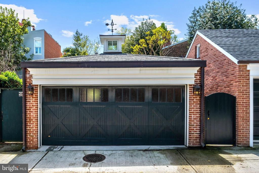 TWO CAR GARAGE - 3011 P ST NW, WASHINGTON