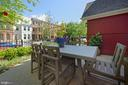 Front patio, table space or maybe a fountain area. - 1015 D ST NE #A, WASHINGTON