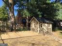 Rear Yard Deck & Shed - 604 N EMERSON ST, ARLINGTON