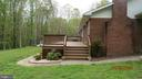 Side view  to the large beautiful deck. - 22191 BERRY RUN RD, ORANGE