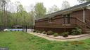 back view with deck - 22191 BERRY RUN RD, ORANGE