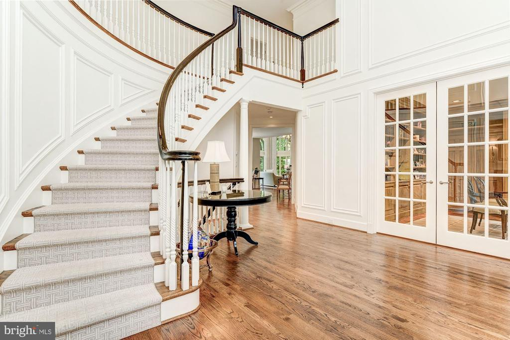 Grand Stair open to Second Level - 5321 GOLDSBORO RD, BETHESDA