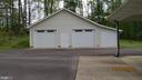 Detached  2 car garage and storage area - 22191 BERRY RUN RD, ORANGE