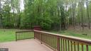 View ffrom deck - 22191 BERRY RUN RD, ORANGE