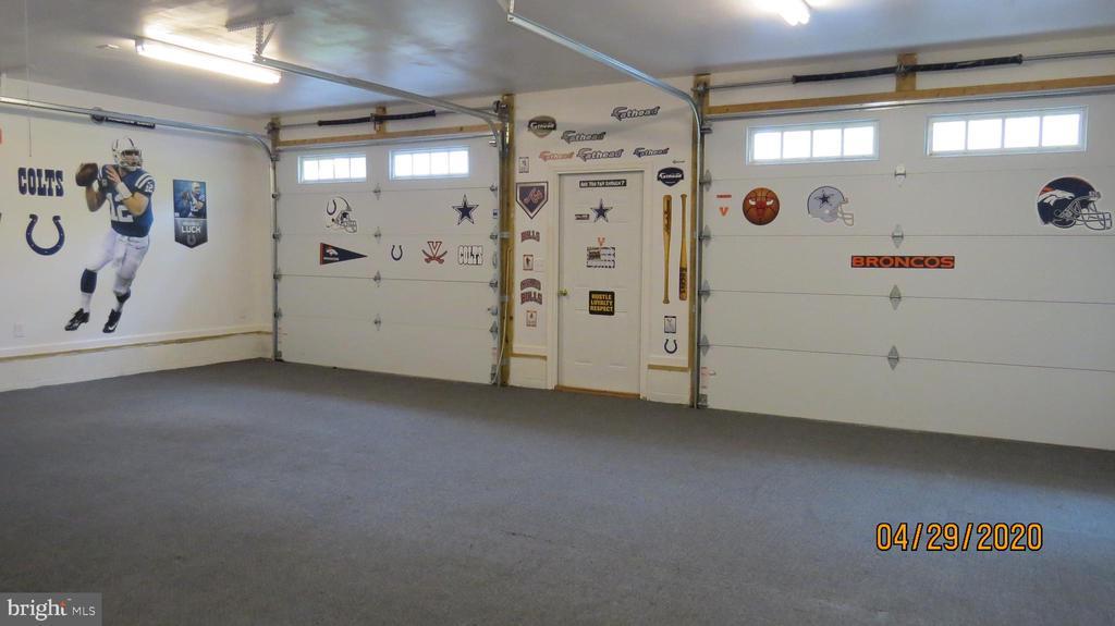 Inside of garage - 22191 BERRY RUN RD, ORANGE