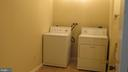 Washer and dryer in nice size laundry room - 22191 BERRY RUN RD, ORANGE