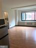 Studio living space with new flooring - 1021 ARLINGTON BLVD #337, ARLINGTON