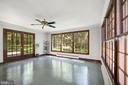 Sunroom would make an awesome home office! - 7808 CHARLESTON DR, BETHESDA